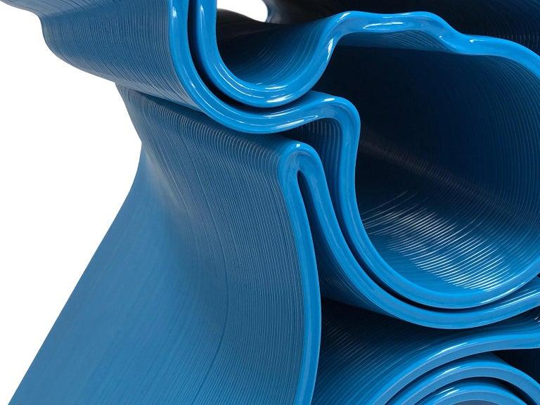 Plastic Nobu Chair in Blue by Manuel Jimenez Garcia for Nagami For Sale