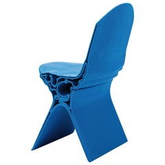 Nobu Chair in Blue by Manuel Jimenez Garcia for Nagami