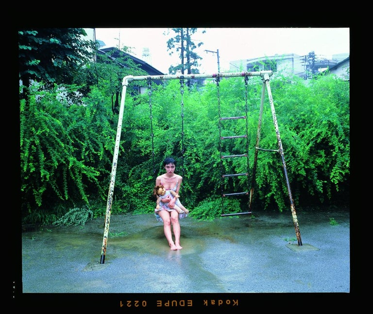 67 Shooting Back #GDN019 – Nobuyoshi Araki, Woman, Bondage, Japan, Photography - Black Color Photograph by Nobuyoshi Araki