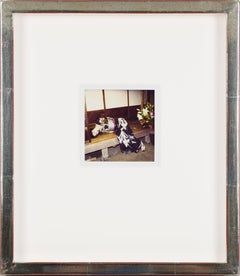 Set of 25 unique, individually custom-framed with UV filter plexiglass polaroids