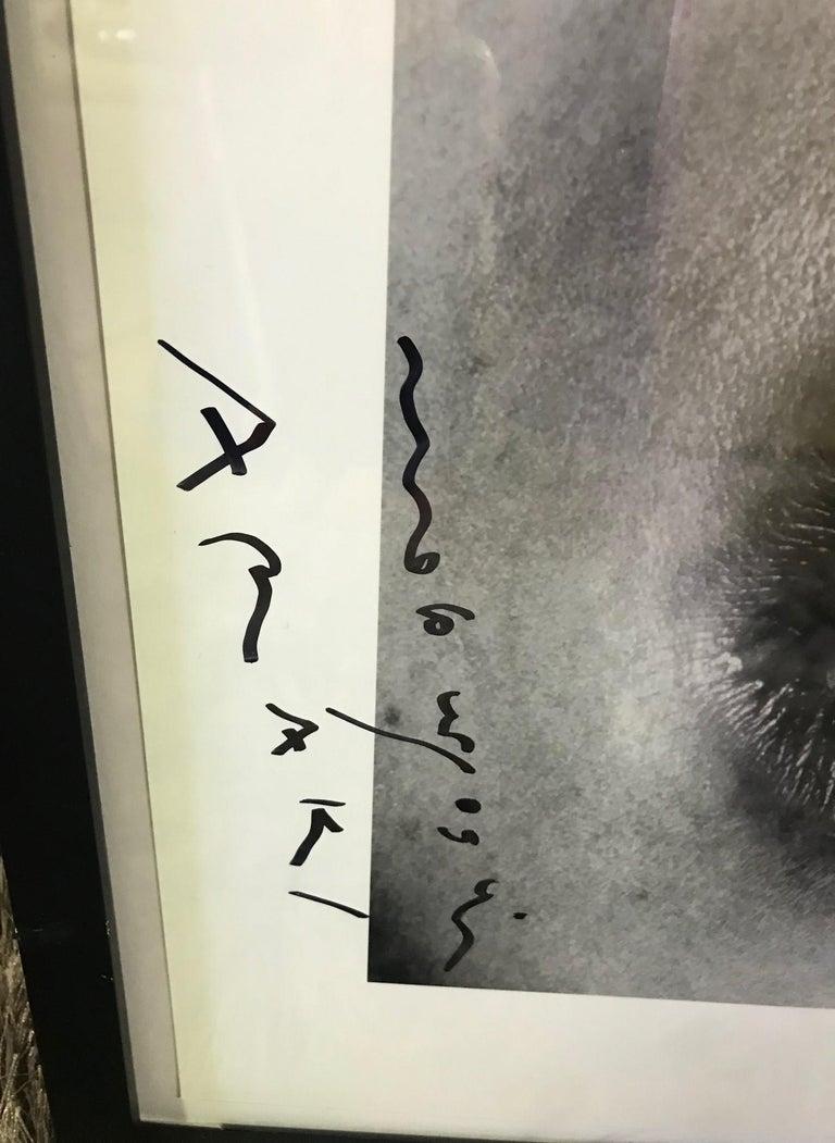 Modern Nobuyoshi Araki Signed Black & White Silver Gelatin Photograph Print Erotos 1993