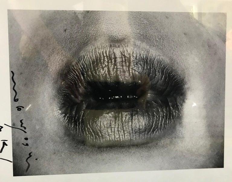 Japanese Nobuyoshi Araki Signed Black & White Silver Gelatin Photograph Print Erotos 1993