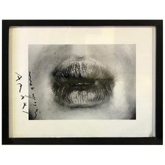 Nobuyoshi Araki Signed Black & White Silver Gelatin Photograph Print Erotos 1993