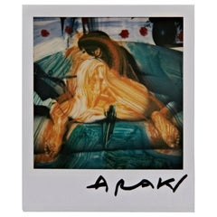 Nobuyoshi Araki Woman Polaroid Signed