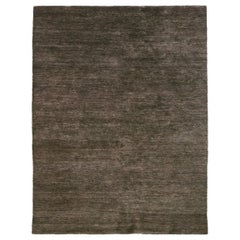 Noche Brown Hand Knotted Jute Rug by Nani Marquina & Ariadna Miquel, Large