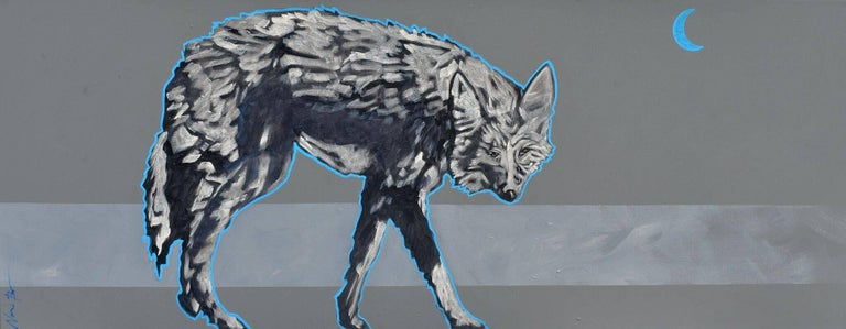 """Electric Moon Coyote"""