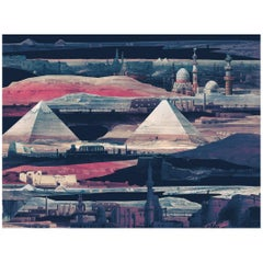 Nocturnes d'Egypte, custom Mural Wallpaper