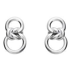 Silver Nodo Earrings
