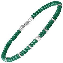Nodo Precious Emerald Bracelet Small