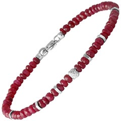 Nodo Precious Ruby Bracelet Small