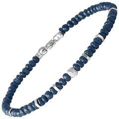 Nodo Precious Sapphire Bracelet Medium