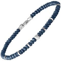Nodo Precious Sapphire Bracelet Small
