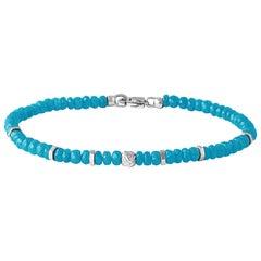 Nodo Precious Turquoise Bracelet Medium