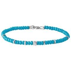Nodo Precious Turquoise Bracelet Small