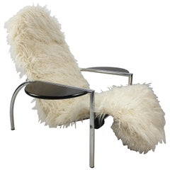 Noe Lounge Chair by Vitelli and Ammannati for Moroso, Italy, 1980's