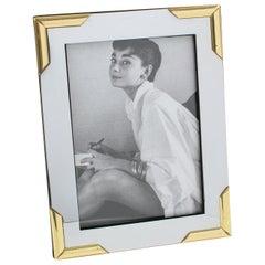 Noel B.C Italy Chrome Brass Picture Frame