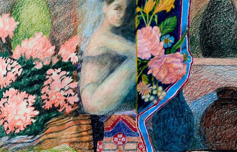Figurative Meditation - Symbolist Art by Noel Howard