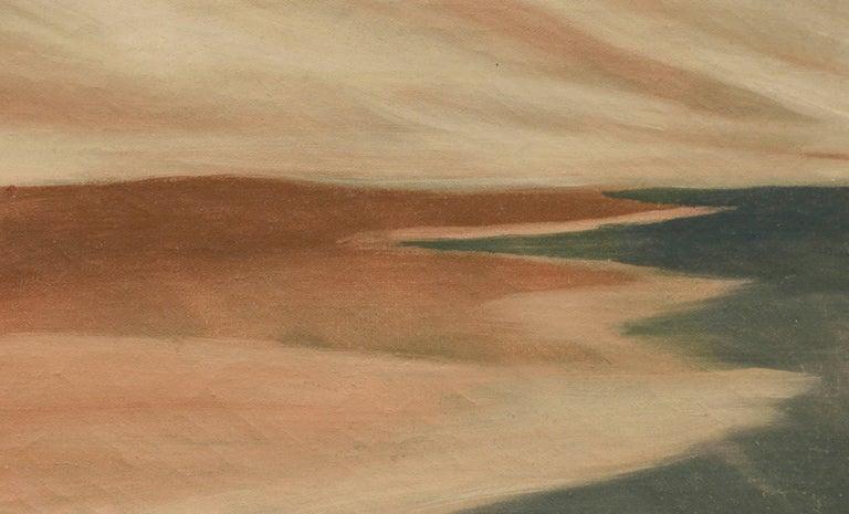 Northern California Coastline Landscape - Painting by Noel Howard