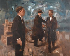 'At Harland & Wolff Docks ' by Noel Murphy
