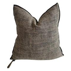 Noir Toile Rustique Chinee Pillow