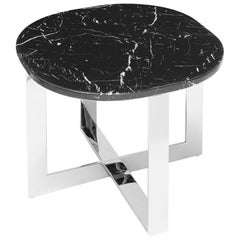 Nolan Chrome Side Table