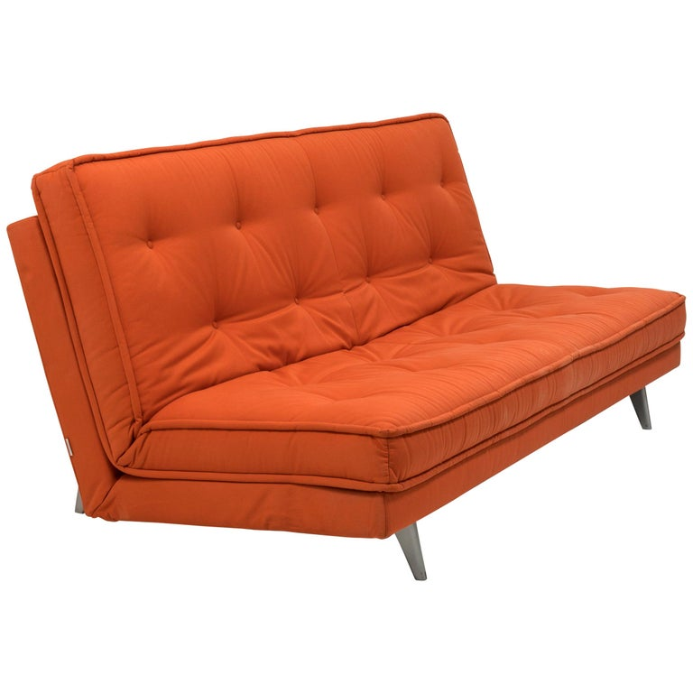 Nomade Express Red Sofa Bed By Didier Gomez For Linge Roset