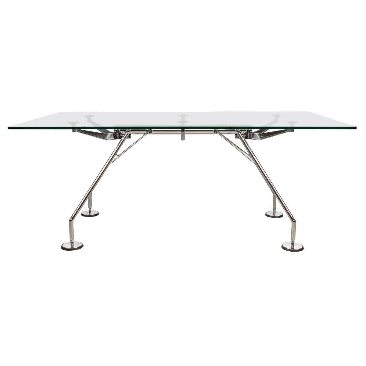 """""""Nomos"""" Dining Table by Norman Foster, Made in Milan, Italy"""