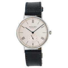 Nomos Glashutte Ludwig 234, White Dial Certified Authentic