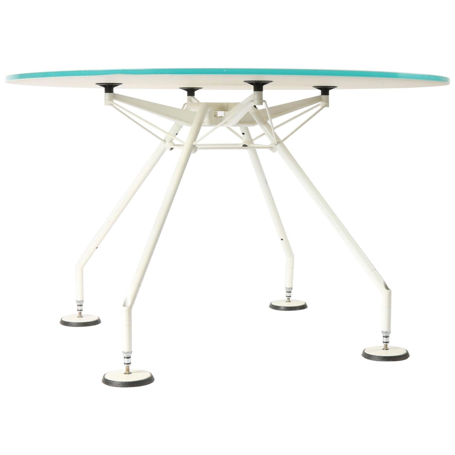 Great Nomos Table by Norman Foster Produced by Tecno, 1980s