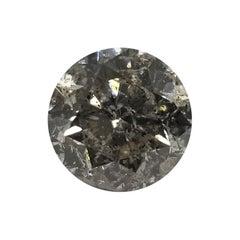 "Non Certified Diamond Brilliant 4.02ct Color ""J-K"" Clarity I1-I2""Salt n Pepper"""