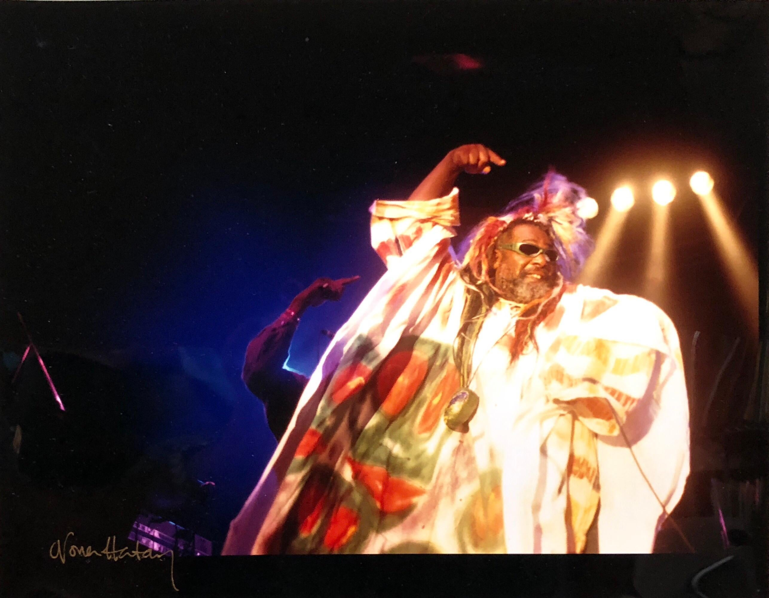 Color Rock & Roll Photo Hand Signed Woodstock Music Festival African American