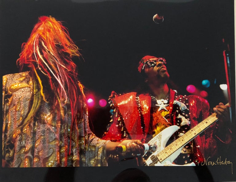 Nona Hatay Figurative Photograph - Color Rock & Roll Photo Hand Signed Woodstock Music Festival African American