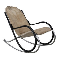Nonna Rocking Chair Designed by Paul Tuttle for Strassle International