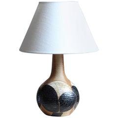 Noomi Backhausen, Table Lamp, Glazed Stoneware, Søholm, Bornholm, Denmark, 1960s