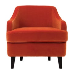 Nor Orange Armchair