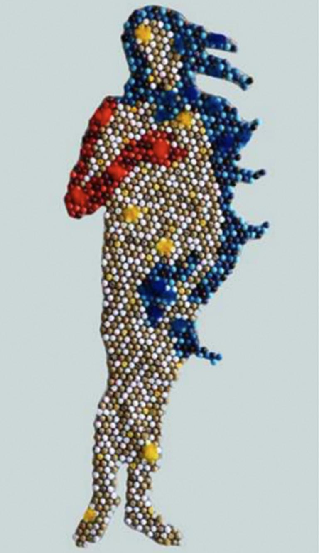Bubble Venus - Mixed Media Art by Nora Adame