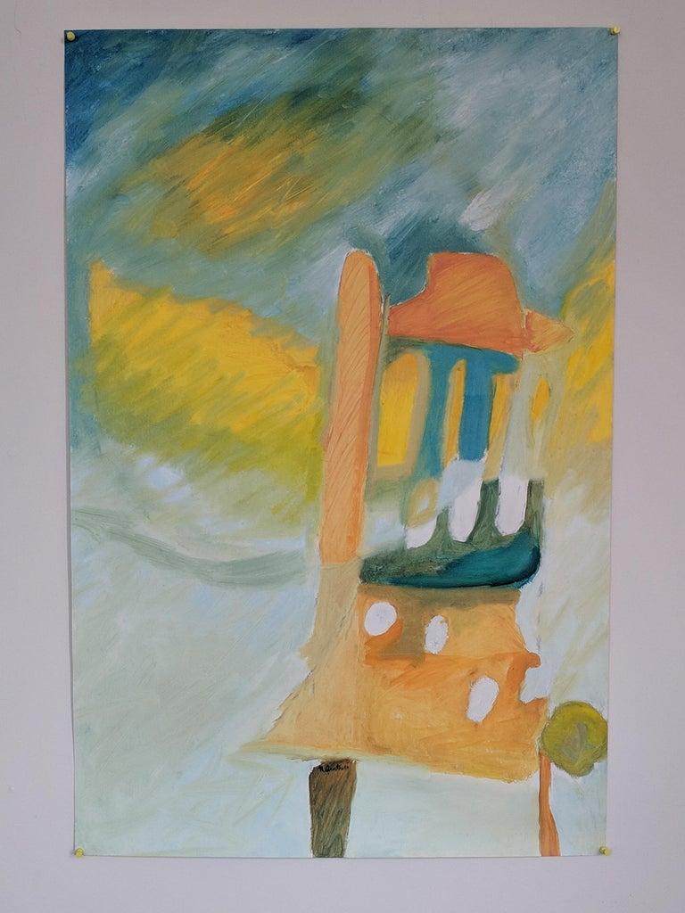 Alo Fugaz (Chair) - Mixed Media Art by Nora Quintero