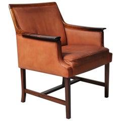 Nordic Midcentury Club Chair by Torbjorn Afdal