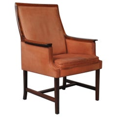 Nordic Midcentury Club Chair by Torbjorn Afdal