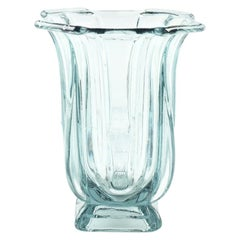 Nordic Style Glass Vase, Northern Europe, 1950s