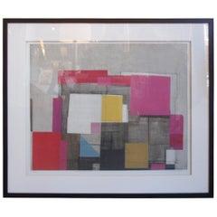 "Norio Azuma ""Flowering Image"" Serigraph on Canvas"