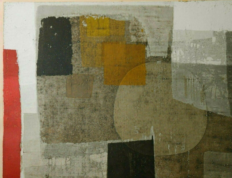 The Orb of Day - Abstract Expressionist Print by Norio Azuma