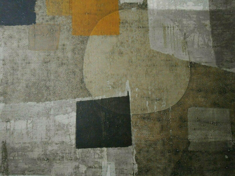 The Orb of Day - Gray Abstract Print by Norio Azuma