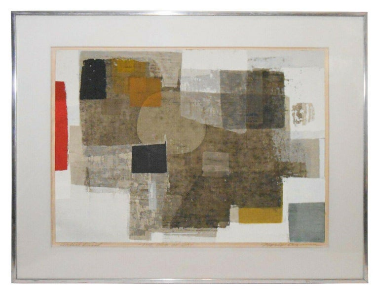 Norio Azuma Abstract Print - The Orb of Day