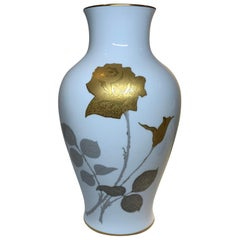Noritake Okura Porcelain Flower Vase