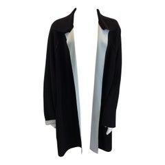 Norma Kamali Black and White Jacket