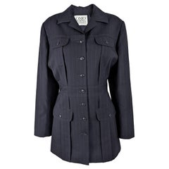 Norma Kamali Vintage Womens Blazer Jacket / Dress, 1980s