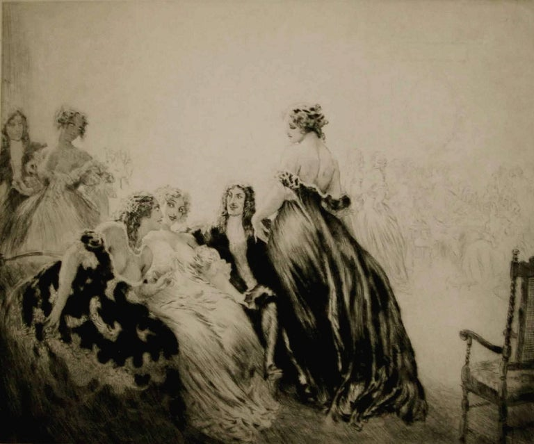 Norman Alfred William Lindsay Figurative Print - Charles.