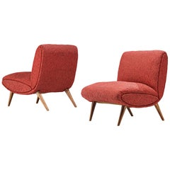 Norman Bel Geddes Pair of Lounge Chairs