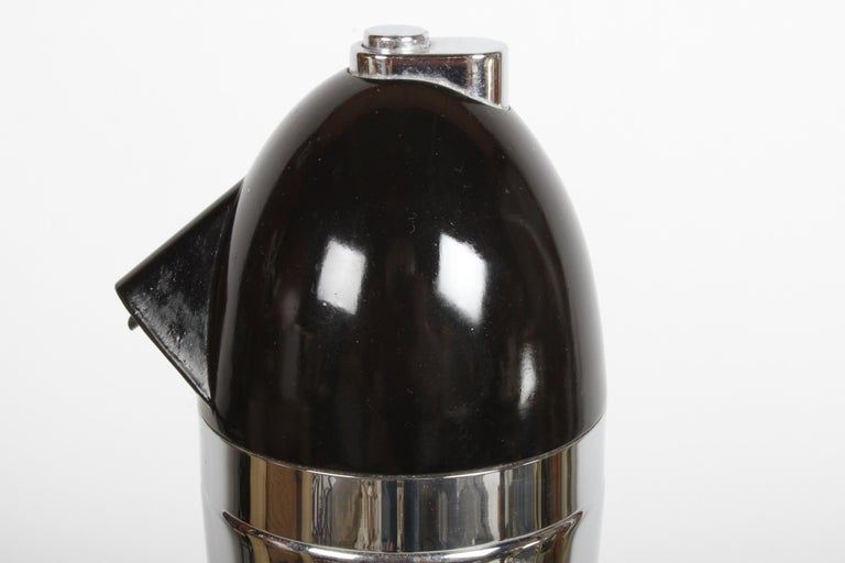 Norman Bel Geddes Soda King Rechargeable Syphon circa 1938, Unused For Sale 6